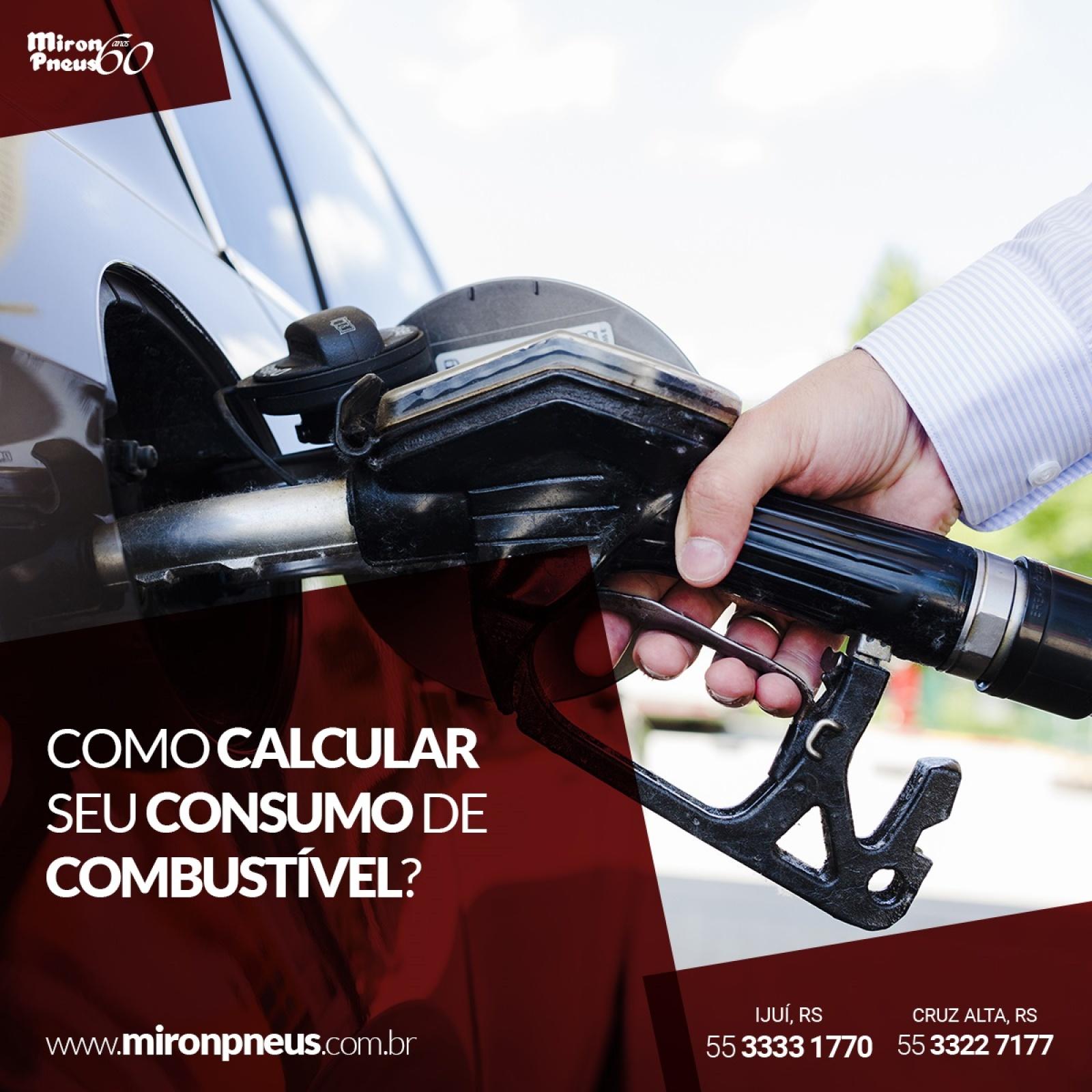 Como calcular seu consumo de combustível?